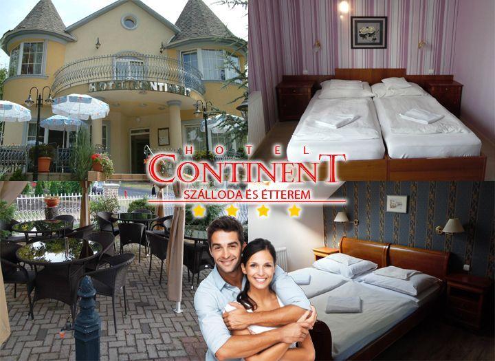 Hotel Continent Sz�lloda �s �tterem ****