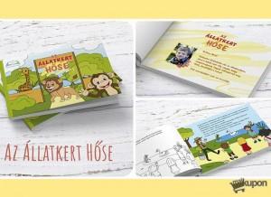 Az állatkert hőse című legújabb névre szóló mesekönyv - Gyerekeknek kupon 8627d46b1a