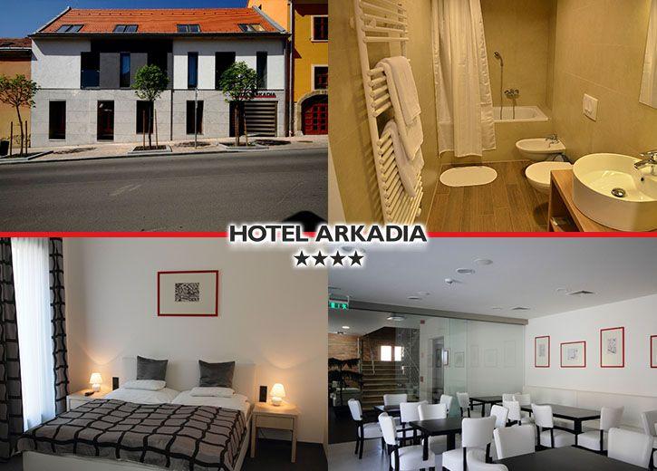 Fedezzétek fel Pécs csodálatos kulturális sokszínűségét! 3 nap 2 éjszaka  szállás 2 fő részére reggelivel most kedvező áron 27 990 Ft-ért Hotel  Arkadia     ... 6fd4fea376