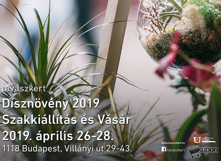 4fde11bf9832 Páros jegy a Tavaszkert Dísznövény Vásárra - 25%-os kupon · MaiKupon.hu
