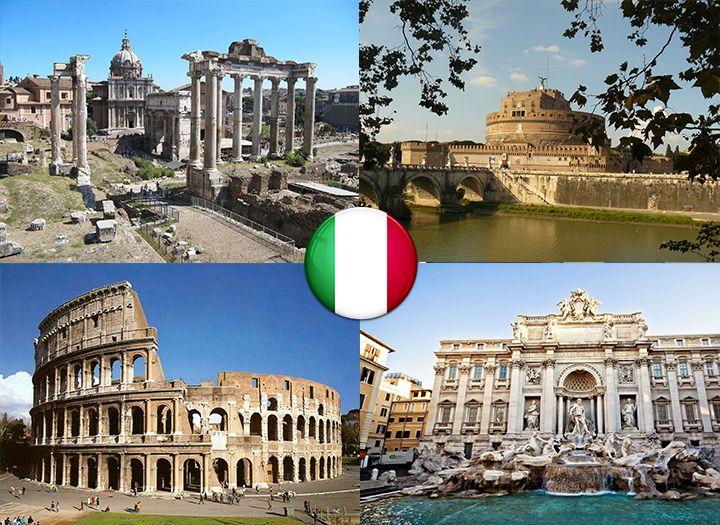 Római 4 napos városlátogatás repülővel 1 főnek c1a00072cb