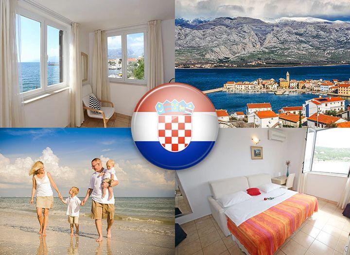 Közvetlen tengerparti nyaralás Horvátországban 4fa08fd127