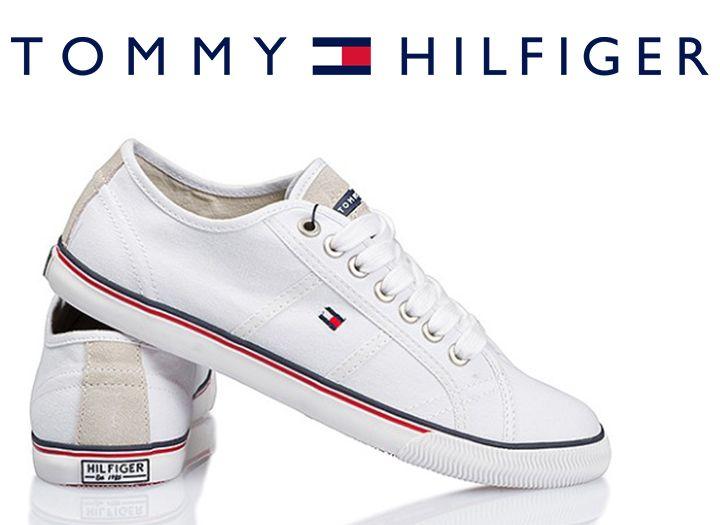 Tommy Hilfiger fehér vászon utcai cipő - 58%-os kupon · maikupon.hu 7751eaa0db